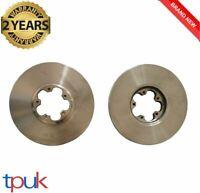FORD TRANSIT MK6 BRAKE DISCS 2000 - 2006 PAIR 2.0 FWD LEFT RIGHT