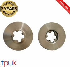 FORD TRANSIT MK6 BRAKE DISCS 2000 - 2006 PAIR 2.0 FWD LEFT RIGHT