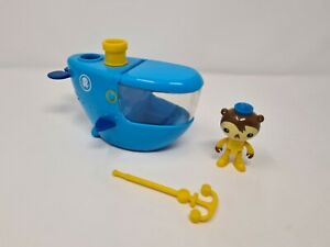 Octonauts Gup C Shellington Figure Playset Bath Toys Bundle