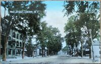 Salem, NY 1908 Postcard: Main Street / Downtown - New York