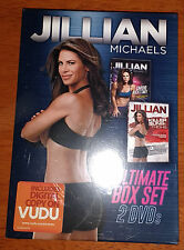 Jillian Michaels Ultimate 2DVD Box Set Killer Buns Thighs + Cardio Kickstart NEW