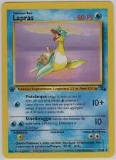 Pokémon - Lapras - 1a Edizione Fossil - italiano