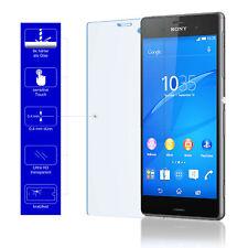 2x 9H Schutzglas Echt Glas Handy Cover Schutzfolie für Original Sony Xperia Z3