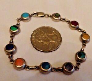 Vintage Bracelet 925 Mexico CA-IS Beautiful WoW