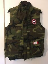 Mens Canada Goose Freestyle Vest Camo Genuine Small With Tags