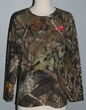 New LADIES Mossy Oak Break-Up Country Long Sleeve T-Shirt Womens Camo S M L XL