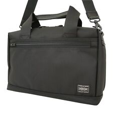 New PORTER STAGE 2WAY BRIEF CASE 620-07574 BLACK From JP