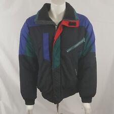 Vtg Obermeyer Expedition Full Zip Ski Snow Winter Jacket Coat Men's L Large