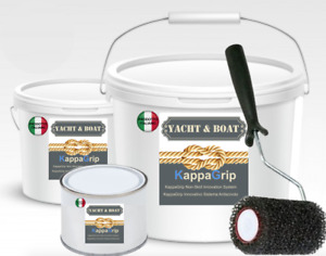 YACHT&BOAT KappaGrip Vernice antiscivolo a base acqua ANTISKID NAUTICO 4 COLORI