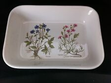 "PORTMEIRION STOKE ON TRENT Floral  9""  SERVING DISH CASSEROLE Baker MINT COND!"
