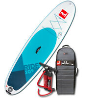 2018 Ride 10'6 Red Paddle Co MSL Inflatable SUP Paddle Board w/Titan pump/pack