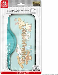 Cinnamoroll Quick Pouch for Nintendo Switch Lite Carry Case Keys Factory F/S