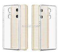 Clear Silicone Slim Gel Case Screen Protector for Xiaomi Redmi Note 4