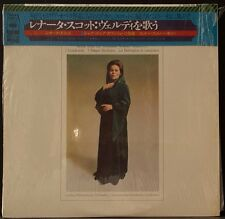 CBS SONY SOCM 119 RENATA SCOTTO SINGS VERDI LPO GAVAZZENI '75 JAPAN PRESS NM
