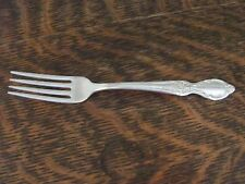 "WM ROGERS & SON IS 1954 ""VICTORIAN ROSE"" DINNER GRILL FORK"