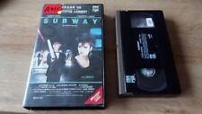 K7 Cassette Vidéo Vintage VHS - SUBWAY Luc Besson
