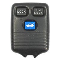 Oem Mazda 626 Remote Key Keyless Entry Fob Transmitter Worn + Cracked Ring