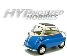 WELLY 1:18 BMW ISETTA DIE-CAST BLUE 24096 N/B