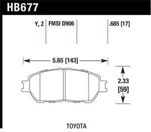 Hawk for Lexus 02-03/04-06 ES300/330 for Toyota 98-12 Tacoma/Adynl Models Street