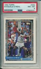 1992 Topps #362 Shaquille O'Neal PSA 8 ROOKIE
