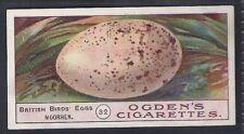 OGDENS-BIRDS EGGS 1908-#32- MOORHEN - QUAILTY CARD!!!