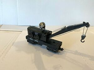 *RARE* 1950 MARX TRAIN -5590 NEW YORK CENTRAL FLOODLIGHT CRANE- O-GAUGE/SCALE VG