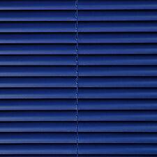 PVC Jalousie Lamellen Tür Rollo Kunststoff Jalousette Kunststoffjalousie blau