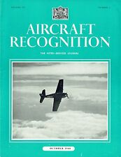 AIRCRAFT RECOGNITION JOURNAL OCT 44: FLYING BOMB/ B-29 SUPERFORTRESS/ STRAFING