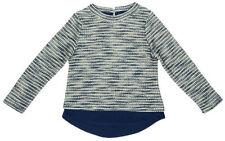 Vêtements pull bleu pour fille de 4 à 5 ans