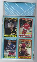 1990-91 OPC BOX BOTTOM NHL HOCKEY CARD Yzerman, Bourque, Turcotte, Vernon HOFers