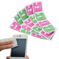 10Pcs/Lot Camera Lens Cleaning Cloth Lcd Screens Dust Removal Wet Dry Wipe Paper