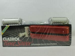 Clairol Combo Pack Time Saver Portable/Quick Heat/Dual Voltage Factory Sealed.