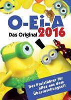 O-Ei-A 2016 - Der Ü-Ei-Katalog - Das Original