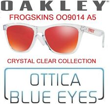 Occhiali da Sole OAKLEY FROGSKINS 9013 A5 CRYSTAL CLEAR COLLECTION Sunglasses