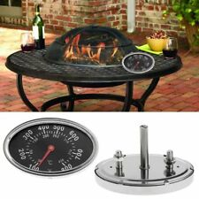 Smoker Gas Grill Lid Thermometer Gauge Camping Cooking Temp Heat indicator 22551