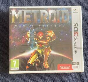 Metroid Samus Returns (Nintendo 3DS) Brand New Factory Strip Sealed 2DS Game