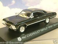 "GREENLIGHT 1/43 1967 CHEVROLET CHEVY IMPALA SPORT ""SUPERNATURAL"" KANSAS PLATES"