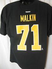 Pittsburg Penguins Malkin # 71 Men's Reebok Tee Shirt Size XL