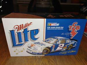 NASCAR ACTION 1998 RUSTY WALLACE ELVIS TCB AUTOGRAPHED DIECAST