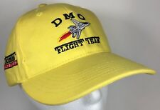 DMO Flight Team Space Hat Yellow Dr. Ed Spaceship Cap Thomas Astronaut