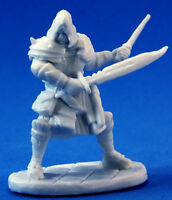 1 x DRAGO VOSS - BONES REAPER figurine miniature jdr warrior assassin 77093