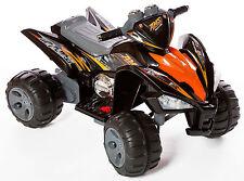 REBOXED Kids Ride On Car-Quad Pro Raptor 12V Electric Battery Toy ATV Black