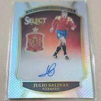 Julio Salinas Autograph Panini Soccer Card 2016-2017 English NM Select 184/199