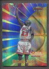 1998 Bowman's Best Atomic Refractor #96 Michael Jordan HOF Chicago Bulls
