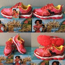NEW Disney Girls Elena of Avalor Red Light Up Sneakers Size 10, 11 or 12 Toddler