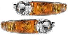 2001 - 2006 GMC YUKON XL DENALI CORNER LAMP LIGHT PAIR LEFT & RIGHT SET