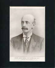Albert Henry George Governor General Of Canada Engraving Book Photo Display