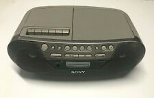 Sony  CFD-S05 AM/FM CD Cassette Player Radio Mega Bass Boombox