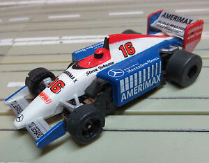 For H0 Slotcar Racing Model Railway Formula 1/Indy With Tomy Motor Bearing Motor