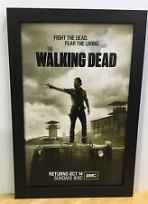 The Walking Dead Framed Tv Movie Poster Zombie Horror